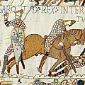 Death Of Harold, Bayeux Tapestry by Photo Researchers