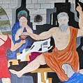 Death Of Socrates by Shahid Zuberi