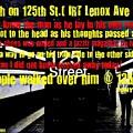 Death On 125th St. Irt Lenox Ave Line by Tony Adamo