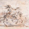 Death On The Battlefield by Stefano della Bella