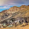 Death Valley Artist's Palette by Blake Webster