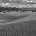 Death Valley Dunes Black And White by Adam Jewell