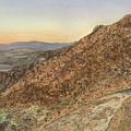 Death Valley From Dante's View  A November Sunset by Joel Deutsch