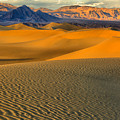 Death Valley Golden Hour by Adam Jewell