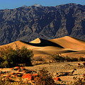 Death Valley's Mesquite Flat Sand Dunes by Christine Till