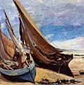 Deauville Beach 1866 by Padre Art