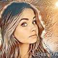 Debby Ryan Golden Beauty by Robert Radmore