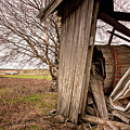 Debris In An Old Barn by Jukka Heinovirta
