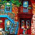 Debullion Street Neighbors by Carole Spandau