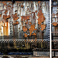 Decaying Railroad Car by Russ Dixon