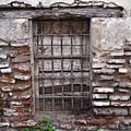 Decaying Wall And Window Antigua Guatemala 2 by Douglas Barnett