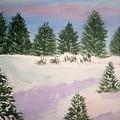 December Afternoon by B Kathleen Fannin