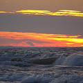 December Swells 6 by John Scatcherd