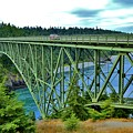Deception Pass Bridge by Terry Matysak