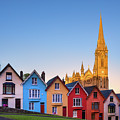 Deck Of Cards And St Colman's Cathedral, Cobh, Ireland by Henk Meijer Photography