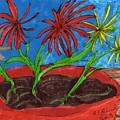 Deck Plant by Elinor Helen Rakowski