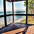 Deck With Ocean View by John Myers