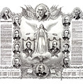 Declaration Of Independence 1884 Poster Restored by Vintage Treasure
