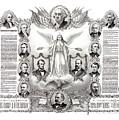 Declaration Of Independence 1884 Poster Restored by Carsten Reisinger