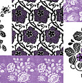 Deco Flower Patchwork 3 by JQ Licensing
