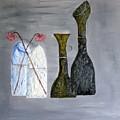 Decor Cut Bottles by Leslye Miller