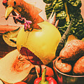 Decorated Organic Vegetables by Jorgo Photography - Wall Art Gallery