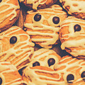 Decorated Shortbread Mummy Cookies by Jorgo Photography - Wall Art Gallery