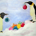 Christmas Penguins by Patricia Piffath