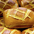 Decorative Bread Of Life Photo A3817 by Mas Art Studio