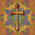 Decorative Cross by David G Paul