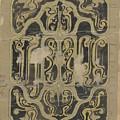 Decorative Design, Carel Adolph Lion Cachet, 1874 - 1945 Vq by Carel Adolph Lion Cachet