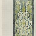 Decorative Design In Green And Blue, Carel Adolph Lion Cachet, 1874 - 1945 by Carel Adolph Lion Cachet
