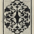 Decorative Design With Fish, Carel Adolph Lion Cachet, 1942 by Carel Adolph Lion Cachet