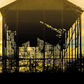 Decrepid Barn by Paul Gibson