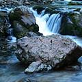 Deep Creek Flowing Between The Rocks by Jeff Swan
