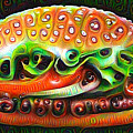 Deep Dream Burger by Matthias Hauser