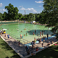 Deep Eddy Pool Is A Family Friendly, Family Fun, Public Swimming Pool In Austin, Texas by Austin Welcome Center