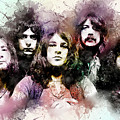 Deep Purple.rock Stars by Elizabeth Simon