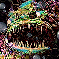 Deep Sea Monster Fish by Artful Oasis