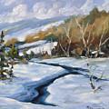 Deep Snow by Richard T Pranke