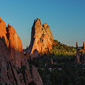 Deep Sunset At Garden Of The Gods by Lon Dittrick