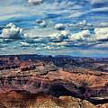 Deep Tones Grand Canyon  by Chuck Kuhn