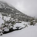 Deep Winter River by Rob Lantz