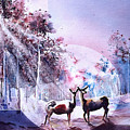 Deer Enchantment by Connie Williams