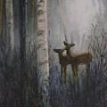 Deer Pair by Patricia Ricci