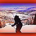 Deer Valley Utah Powder by Ricardo Richard W Linford