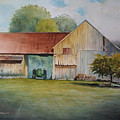 Deere On The Farm by George Wisnowski