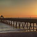 Deerfield Pier Sr by Joel P Black