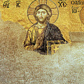 Deesis Mosaic Hagia Sophia-christ Pantocrator-judgement Day by Urft Valley Art