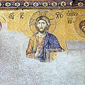 Deesis Mosaic Of Jesus Christ by Artur Bogacki